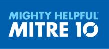 mighty helpful mitre 10 blue logo